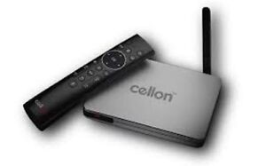 New AVOV Cellon the best media device. Android 4K IPTV/OTT