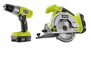 Ryobi Lithium Drill and Circular Saw still in box, never opened