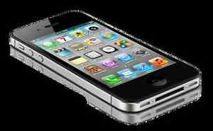 Mint Condition iPhone 4s (Black)-(Bell /Virgin)16GB=$110