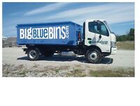Disposal Bins FLAT RATE - Garbage, Junk, Roofing, Clean Fill