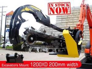 1200mm Hydraulic Trencher 200mm cut width suit 4 to 8T Excavators Brisbane City Brisbane North West Preview