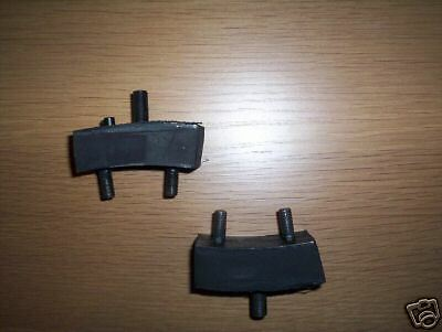 (x2) MORRIS Minor    FRONT ENGINE MOUNTS   (From 1952- 71)