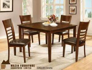 5 Piece Dining Room Set Starting bid: $622.00 Regular Retail $1149