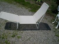 lay out lawn chair .. price is FIRM
