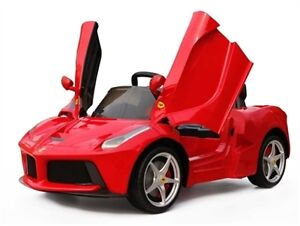 Brand New 12V Electric Child Ride On Ferrari Remote Control more