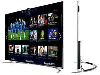 "Samsung 65""LED smart 3D WiFi TV built in USB player HD freeview.full HD 1080P Top model 8 series"