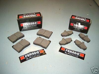 FERODO DS2500 FRONT  REAR BRAKE PADS ALL 2WD COSWORTH
