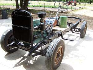 CLASSIC CHEVROLET 1/2 ton rolling truck frame *** stovebolters**