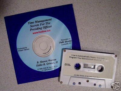 Time Management Secrets For The Presiding Officer CD