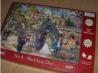 House of Puzzles Jigsaw No4 Wedding Day