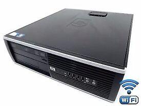 Hp Elite 8000 SFF- Fast Intel Dual Core 3Ghz 250GB HDD / 6GB Tower Win 10 Wifi