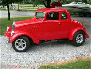 Wanted 33 Willys coupe fiber glass doors