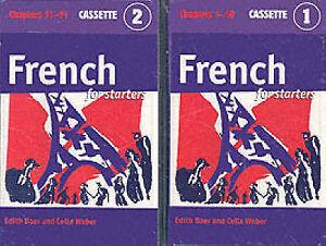 French-for-Starters-Cassette-Set-Edith-Baer-Celia-Weber-Audio-Cassette-Book