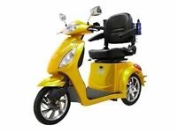 2015 Rickshaw Scooter with True Mobility  speakers+windshield ++