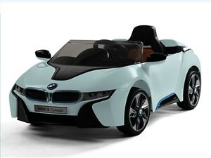 Daymak BMW i8 Blue, Ride on Toy Car - in stock again!