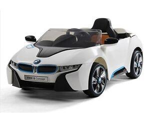 Brand New 12V BMW I8 Child Ride On Remote Music Radio Peterborough Peterborough Area image 1