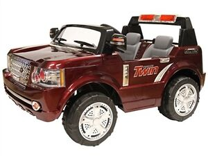 Huge Electric Two Seater Child Ride On Two 12V Batteries, Remote