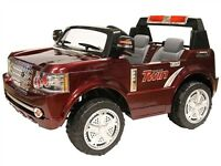 New Two Seater Child Ride On with Remote, Two 12V Batteries Sale
