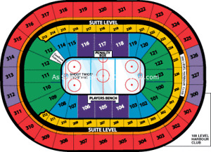 Sabres vs Sharks - Oct 28 - 2 Tickets - Aisle Seats