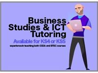 Business Studies & ICT Tutoring
