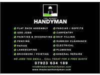 The dorset HandyMan Painter decorator Free Quotations No jobs too small