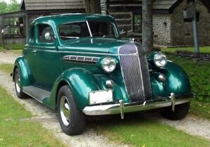 1936 Chrysler Air Stream Business Coupe Resto-Mod