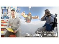Get Paid to Teach and Travel The World - No Experience Required - Great $$$