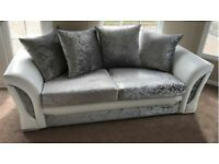 NEW Scs 3&2 sofas with FREE FOOTSTOOL