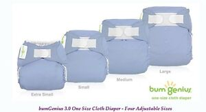 bumGenius 3.0 and size small all in one cloth diapers