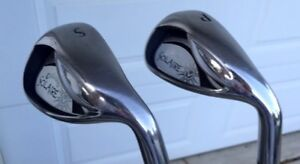 Ladies Callaway Solaire Matching Pair Pitching and Sand Wedges