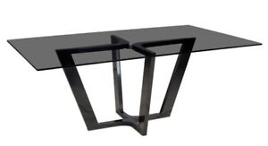 Glass table top wanted black tinted 3FX5F SIZE