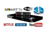Samsung 3D Blu ray disk player BDH-550 with Apps and games Boxed Ex Demo 12 months warranty