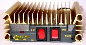ZETAGI B153 HF AMPLIFIER CB HAM RADIO BURNER 100w