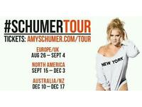 2 x Amy Schumer live ticket - Edinburgh Playhouse