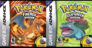 Pokemon  fire  red  leaf  green * LOOKING  TO  BUY *