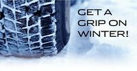 "Winter tire blow out sale 14""15""16""17""18""19"""