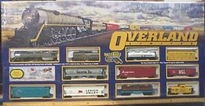 BACHMANN - OVERLAND – Limited Electric Train Set - HO Gauge