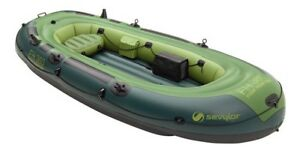 Sevylor Fish Hunter 360  6 man (1200lb) Inflatable Boat