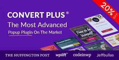 Convertplus Popup Plugin For Wordpress Lastest Version Original Files