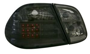 MERCEDES CLK 97-02 C208 BLACK LED STYLE REAR LIGHTS