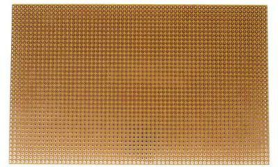 10x Lochraster, Kupferplatine, verzinnt, 2,54mm; Punkte