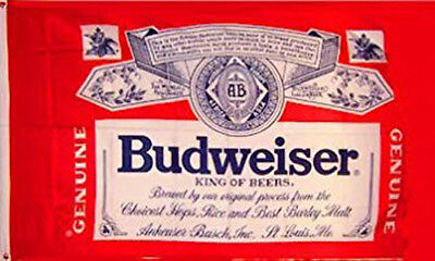 BUDWEISER BEER FLAG NEW 3X5FT banner sign better quality