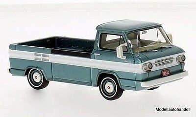 Chevrolet Corvair Pick Up 1963 metallic-dunkeltürkis/weiss  1:43 Neo 46526
