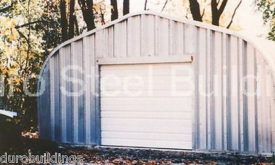 Durospan Steel 25x40x12 Metal Garage Workshop Straight Wall Building Kit Direct