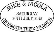 Personalised Wedding Stamp