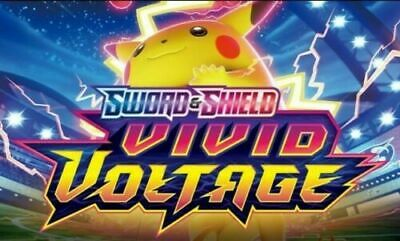 Pokemon Vivid Voltage Custom Booster Pack I 10 Cards Bundle Job Lot I V/VMAX ?