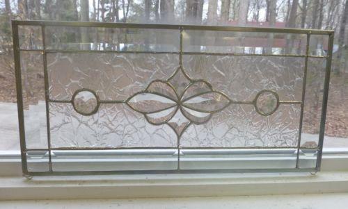 Beveled glass panel ebay for 15 panel beveled glass door