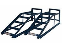 HEAVY DUTY FIXED METAL CAR RAMPS