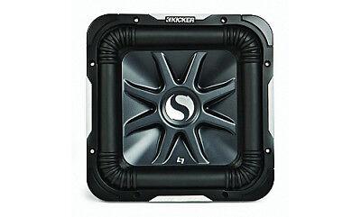 """Kicker Refurbished 11S15L7D4 Car Audio Solo Baric 15"""" L7 Dual 4 Ohm 2000W Sub"""