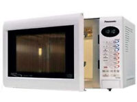 Microwave Oven Panasonic 27ltr 1000w Digital Combi, Quartz Grill, White & Excellent condition